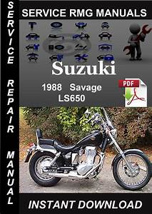 1988 Suzuki Savage Ls650 Service Repair Manual Download