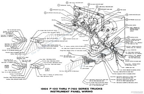 Ford Truck Wiring Diagrams Fordification Info The