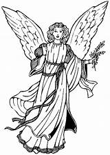 Angels Coloring Pages Fun sketch template