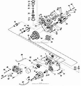 Mtd 145v834h401  1995  Parts Diagram For Hydrostatic
