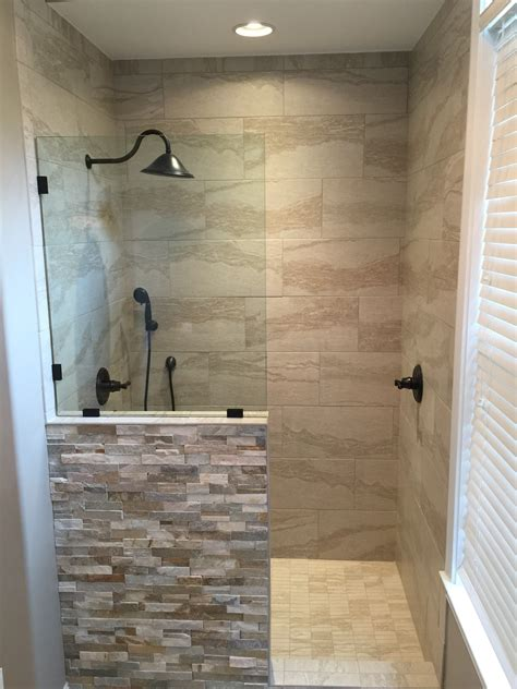 bathrooms with showers new shower replaced the old jacuzzi tub my bathroom pinterest jacuzzi tub jacuzzi and tubs
