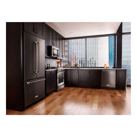 cabinet depth refrigerator krfc302ess kitchenaid 36 quot 22 cu ft counter depth