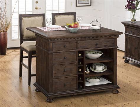 expandable kitchen island jofran expandable drop leaf and wire brushed kitchen island with bun feet beyond stores