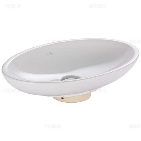 aufsatzwaschbecken villeroy und boch villeroy boch loop friends aufsatzwaschtisch oval 51510001 megabad