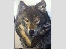 13 best images about Wolf on Pinterest Oil on canvas