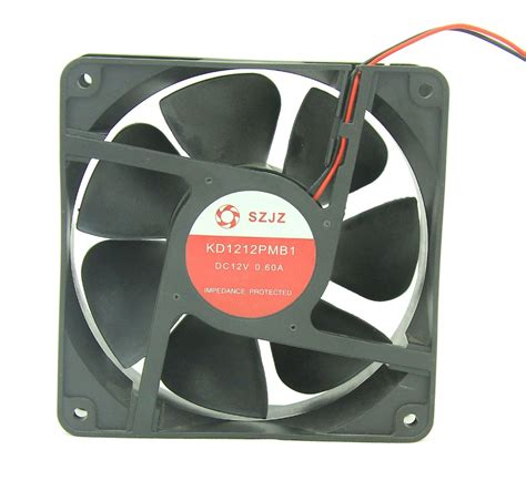 high velocity low speed fans low noise high speed 120mm computer fan cooler 12v