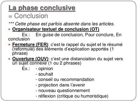 Conclusion Résumé De Texte le plan du texte explicatif