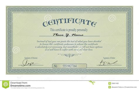vintage frame  certificate template royalty  stock