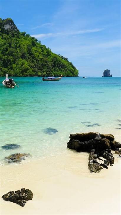Beach Tropical Exotic Phone Resorts Iphone Resort