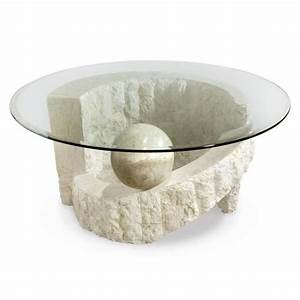 magnussen ponte vedra round cocktail table with glass top With ponte vedra coffee table