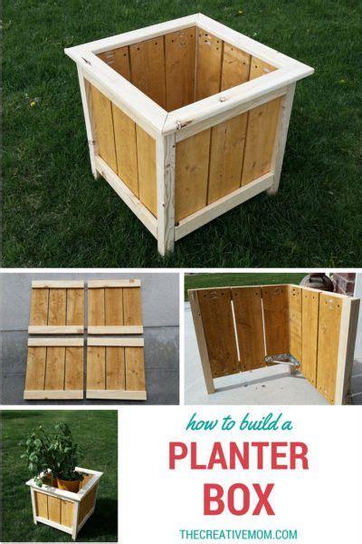 build  planter box quick  easy beginner build