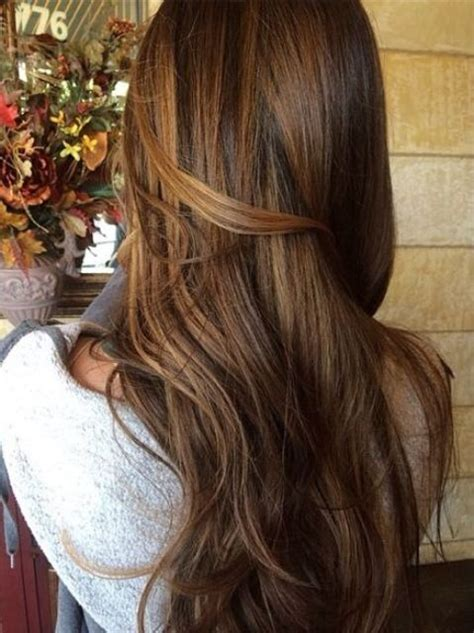 feminine  soft chestnut hair ideas styleoholic