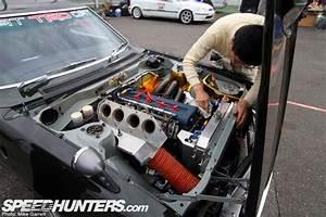 Daruma Celica Toyota Works 152e Twin Cam Race Motor