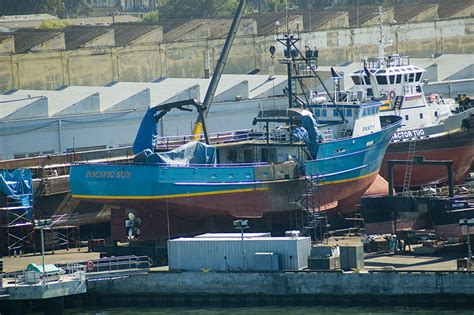 Crab Boat Destination Size by F V Pacific Sun Westcoast Fisherman From The Bering To