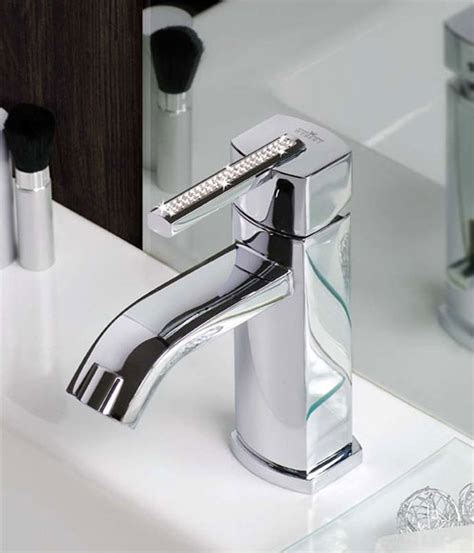 Crystal Bathroom Faucets  Swarovski Azeta By Webert