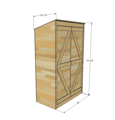 ana white small outdoor shed  closet converted
