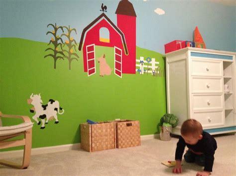 Kinderzimmer Wandgestaltung Bauernhof by 17 Best Images About Granja On Jungle Theme