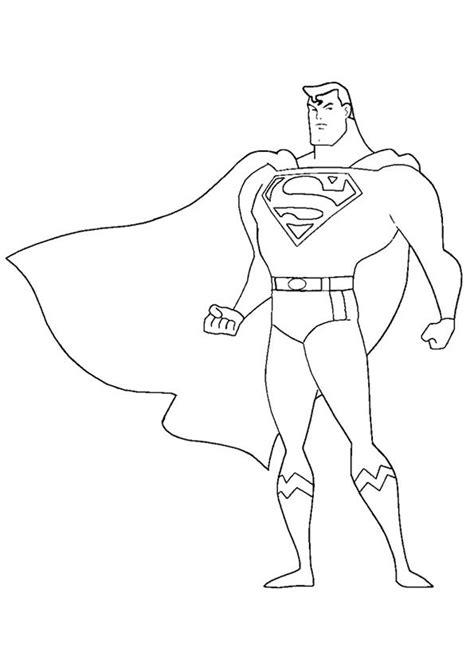 print coloring image momjunction superhero coloring