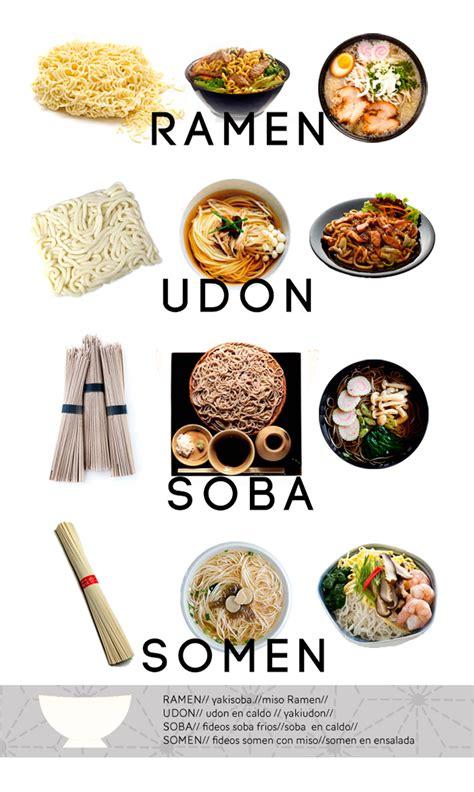 Cocina Japonesa Para Principiantes Variedades De Fideos