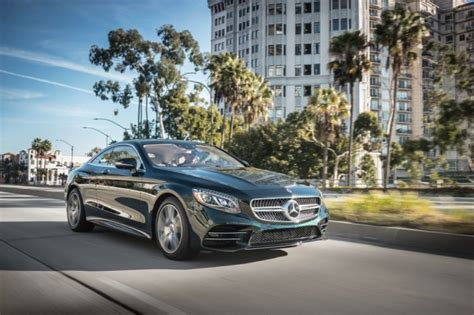 2018 Mercedes Benz S560 4matic Coupe Amg Line C217