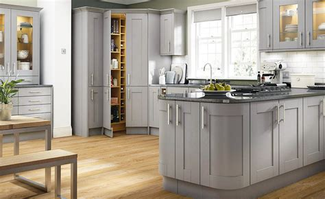 light grey shaker kitchen 9 stylish shaker kitchens real homes 6995