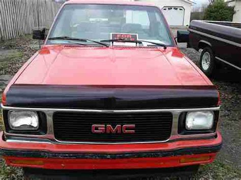 car maintenance manuals 1992 gmc sonoma transmission control sell used 1992 gmc sonoma same as s 10 short bed low miles in vinemont alabama united states