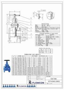 Anugerah Pertiwi  Flowcon Resilient Seated Gate Valve