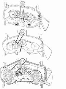 Cub Cadet Lt1042 Mower Deck Diagram
