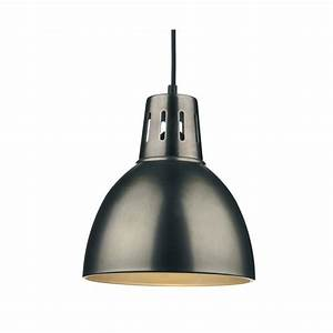 Osaka easy fit antique chrome ceiling pendant light
