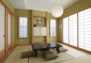 Traditional japanese asian living room los angeles for Japanese living room