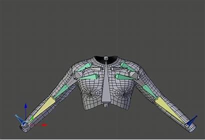 Character Blender Rigging Arm Development Muscles Modeling
