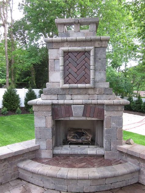 fire features fire places long island