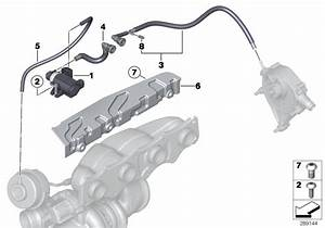 Bmw 320i Vacuum Hose  Engine  Control