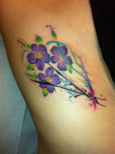 Watercolor violets | Tattoos | Pinterest | Watercolors ...