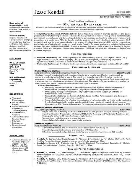 Engineering Resume by Electrical Engineer Resume Sle Electrical Engineering
