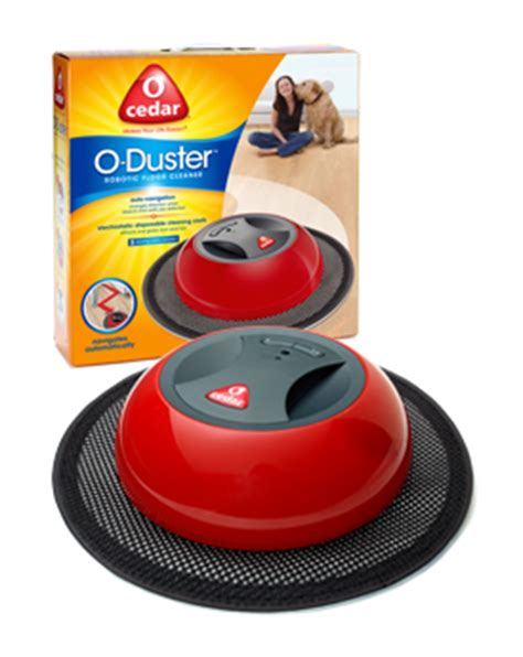 o duster robotic floor cleaner new o cedar o duster robot automatic mop robotic floor