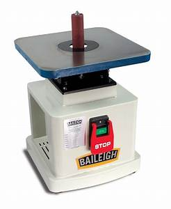 Bench Top Spindle Sander OS-1414 Baileigh Industrial