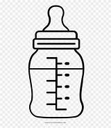 Bottle Baby Clipart Biberon Para Coloring Dibujar Pinclipart sketch template
