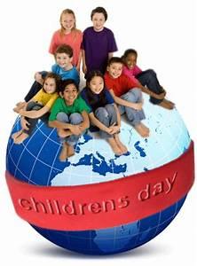 Universal Children's Day – Celebrated November 20 th annually.