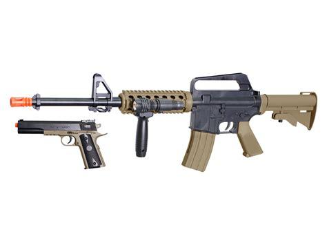 colt  ris  spring airsoft kit blacktan airsoft guns
