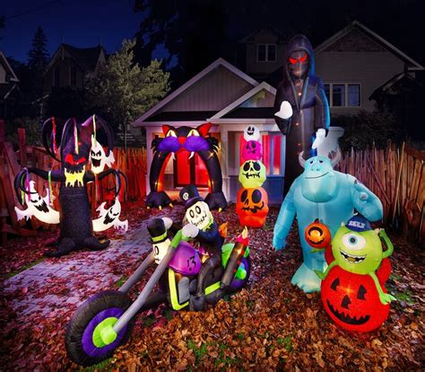 spooktacular fun with halloween inflatable decorations