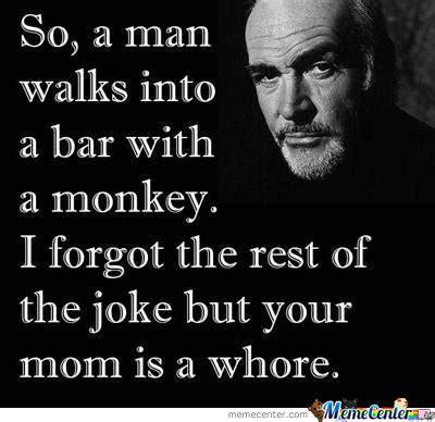 Funny Whore Memes - forgot your joke like a boss by banane meme center