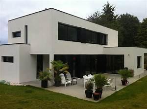 resultat de recherche d39images pour quotextension toit plat With lovely maison toit plat en l 0 maison neuve avec piscine toit plat