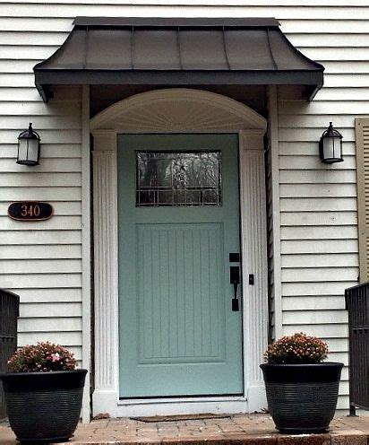 Entry Door Awning by 1000 Ideas About Front Door Awning On Metal