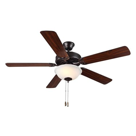 shop monte carlo fan company homebuilder ii 52 in bronze