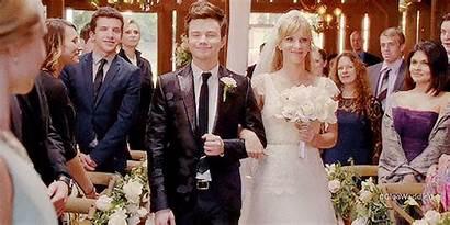 Glee Down Aisle Smash Kurt Blaine Married