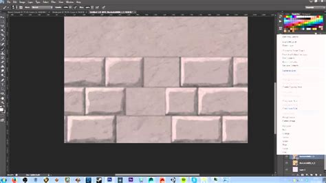 timelapse hand painting brick wall texture