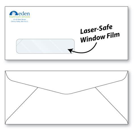 window envelope 10 laser safe window envelopes custom printed sheppard envelope