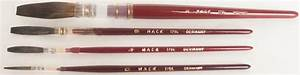 series 179 brown kazan lettering quills by mack raw With lettering quill brushes