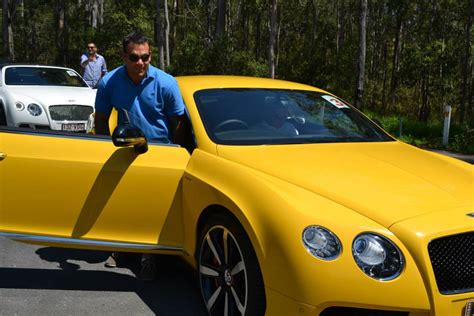 Bentley Continental Im Outback